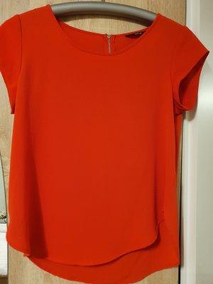 Only Camicia a tunica rosso
