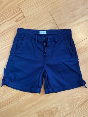 armedangels Hot pants donkerblauw