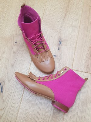 Flip*flop Bottines à lacets chameau-rose