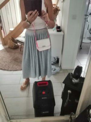 Deichmann Crossbody bag white-pink