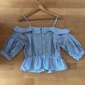 Vintage Dressing Off-The-Shoulder Top multicolored