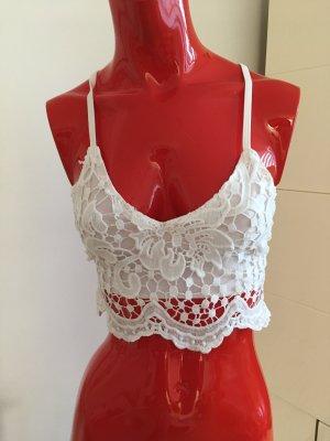 Crochet Top white