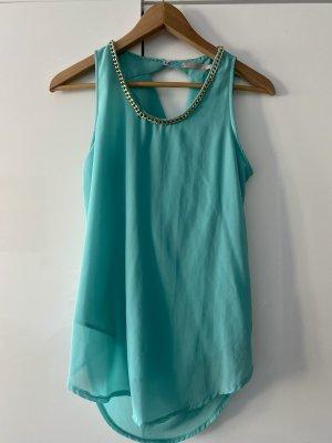 Silk Top turquoise