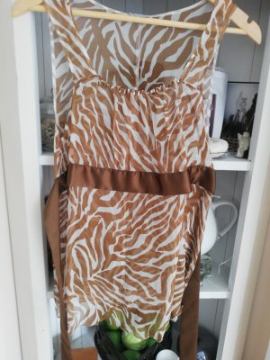 Sommertop intimissimi Braun beige zebra