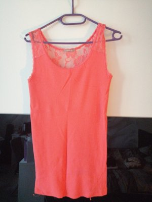 Orsay Lace Top salmon