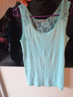 Orsay Lace Top light blue