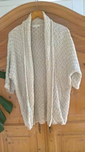Opus Veste tricotée en grosses mailles doré coton
