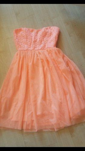 Be only Bustier Dress apricot mixture fibre