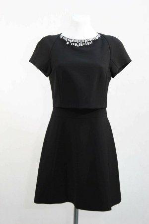 SONDERPREIS FÜR NUR 3 TAGE! Ted Baker Kleid Damen Cocktailkleid Skaterkleid Gr. 34 (XS) Schwarz
