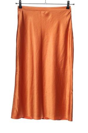 Song of style Midi Skirt light orange casual look