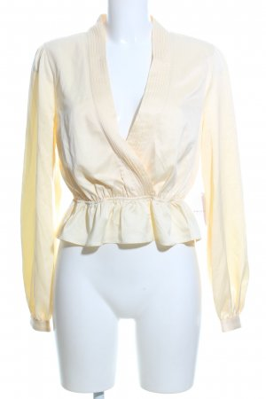 Song of style Slip-over Blouse cream business style