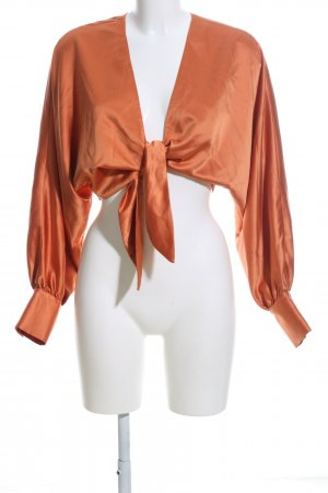 Song of style Wickel-Bluse hellorange Casual-Look