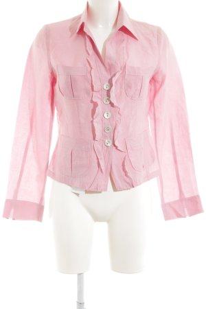 Sônia Bogner Langarm-Bluse pink Elegant