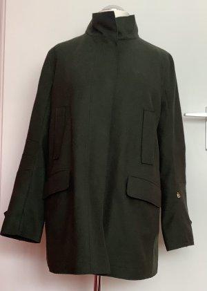Sônia Bogner Wool Jacket dark green-forest green wool