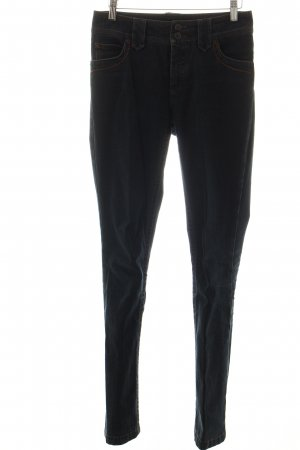 Sônia Bogner Straight-Leg Jeans dunkelblau-cognac Casual-Look