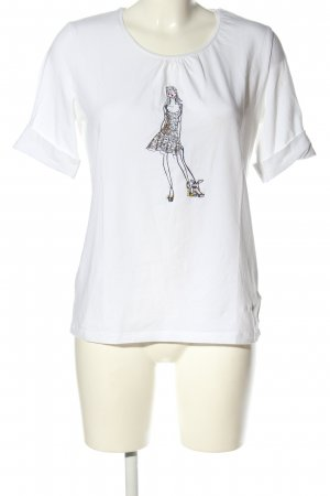 Sônia Bogner T-Shirt Motivdruck Casual-Look