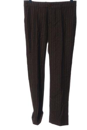 Sônia Bogner Pantalón de lana marrón look casual