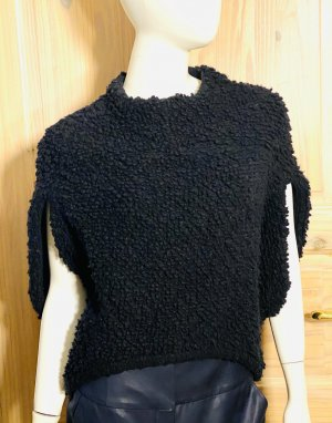 Sonia Rykiel Cape black angora wool