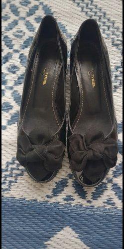 Sonia Rykiel Patent Leather Ballerinas black