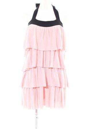Sonia Rykiel for H&M Flounce Dress pink-black elegant