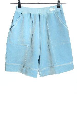 Sonia Rykiel Szorty z wysokim stanem niebieski W stylu casual