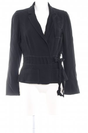 Sonia Rykiel Kurz-Blazer schwarz extravaganter Stil