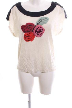 Sonia Rykiel Bluzka z krótkim rękawem Wzór w kwiaty W stylu casual