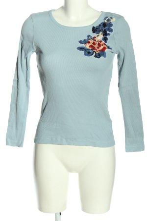 Sonia Rykiel Manica lunga blu stile casual