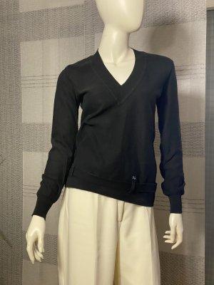 Sonia Rykiel Sweter z dekoltem w kształcie litery V czarny