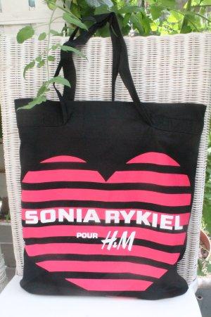 Sonia Rykiel * Shopper * Stofftasche * restlos ausverkauft * kaum benutzt *