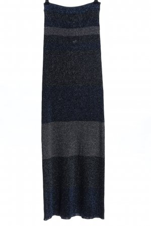 Sonia Rykiel Knitted Skirt blue-light grey elegant