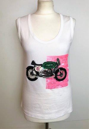 Sonia Rykiel Muscle Shirt multicolored cotton