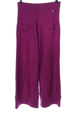 Sonia Rykiel Pantalone di lana rosa stile casual