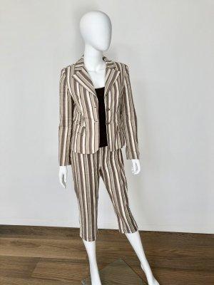 Sonja Fortuna- schicker Hosen-Anzug-3/4 Hose+ Blazer-Sommer-Anzug-neuw.-