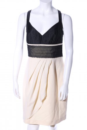 Sonja Kiefer Ballonkleid creme-schwarz Elegant