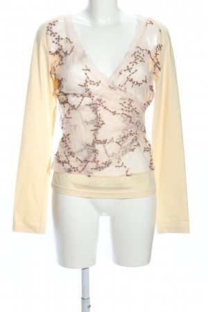 Sonja Kiefer Transparenz-Bluse creme Casual-Look