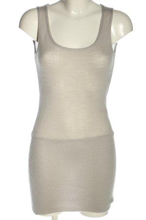 Sonja Marohn Top lungo grigio chiaro stile casual