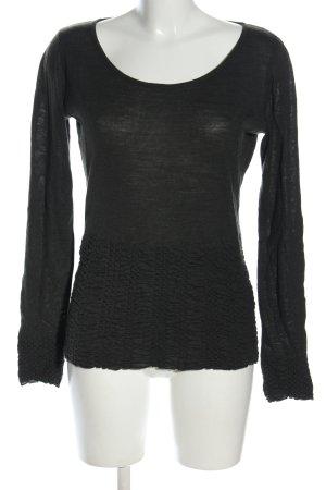 Sonja Marohn Camicia maglia nero stile casual
