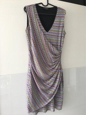 Ana Alcazar Robe trapèze multicolore