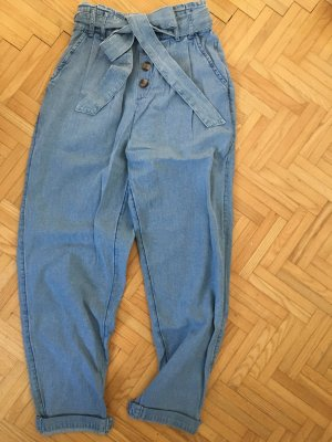 american eagle Pleated Trousers azure