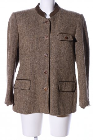 Sonnblick Traditional Jacket brown flecked business style