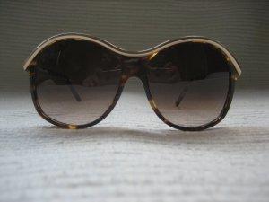 Gianfranco Ferré Gafas de sol ovaladas marrón-color oro