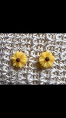 Sonnenblume Ohrringe neu