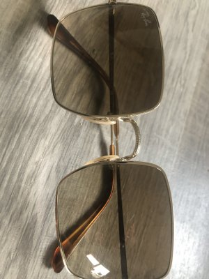 Ray Ban Glasses camel-gold-colored