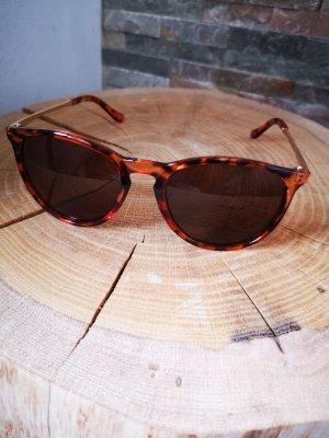 Angular Shaped Sunglasses brown-dark brown