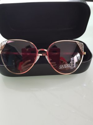 Guess Glasses gold-colored-light brown