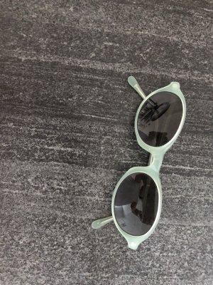 Calvin Klein Lunettes de soleil ovales kaki