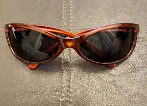 Oval Sunglasses brown-black