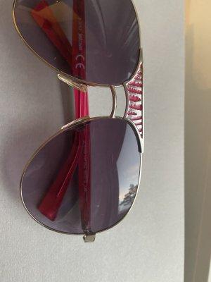 Cavalli Pilotenbril zwart-magenta