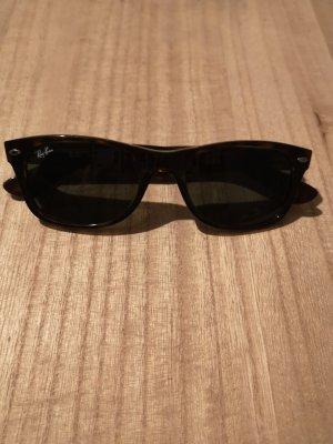 Rayban Hoekige zonnebril lichtbruin-donkerbruin